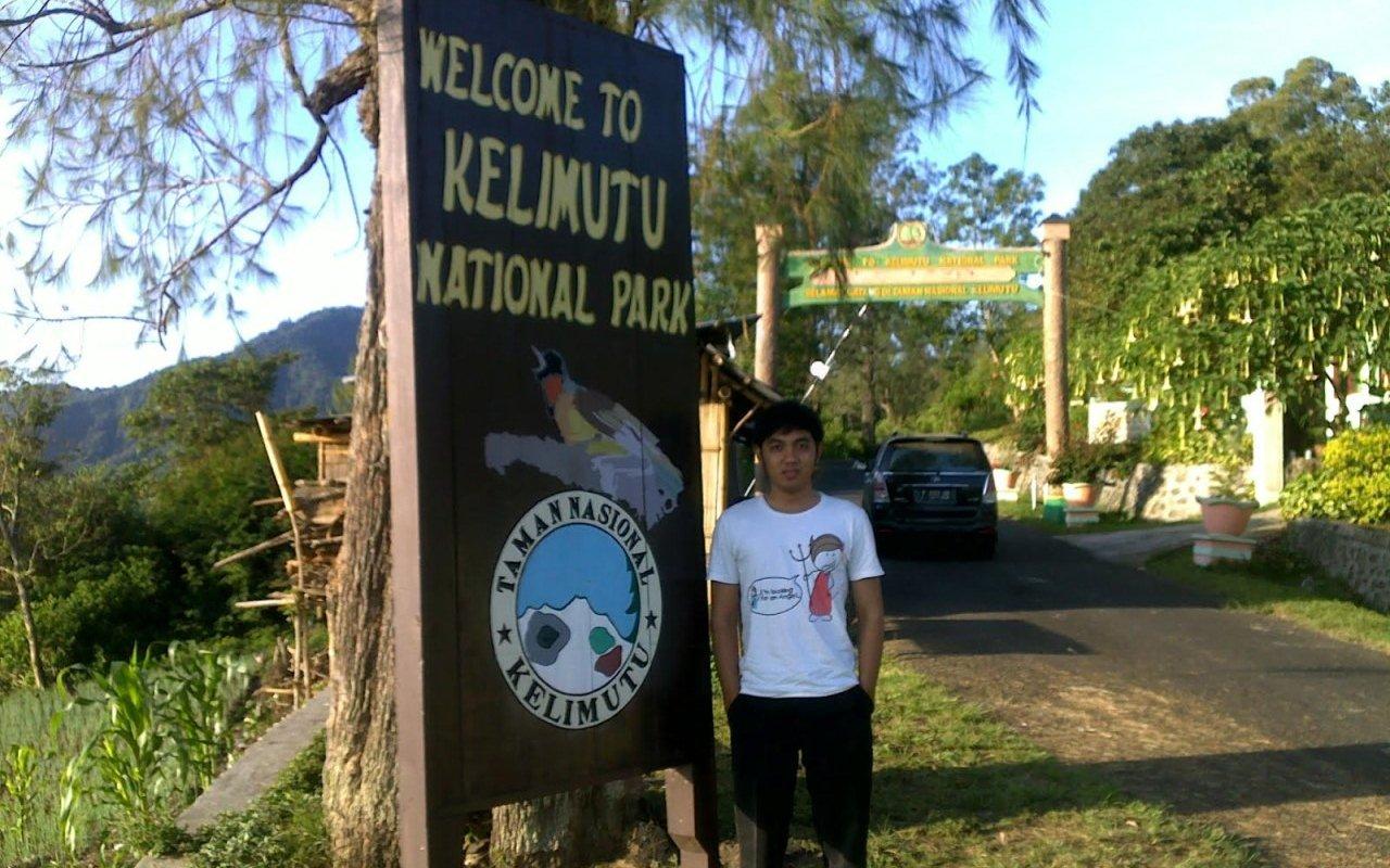 pintu masuk taman nasional kelimutu