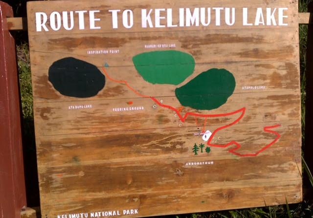 rute menuju danau kelimutu