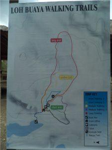 pilihan trekking di Rinca