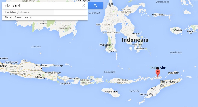 pulau alor