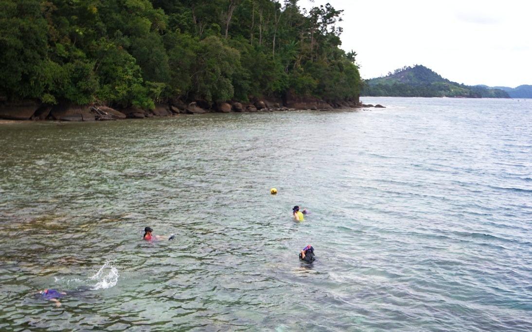snorkeling di suwarnadwipa