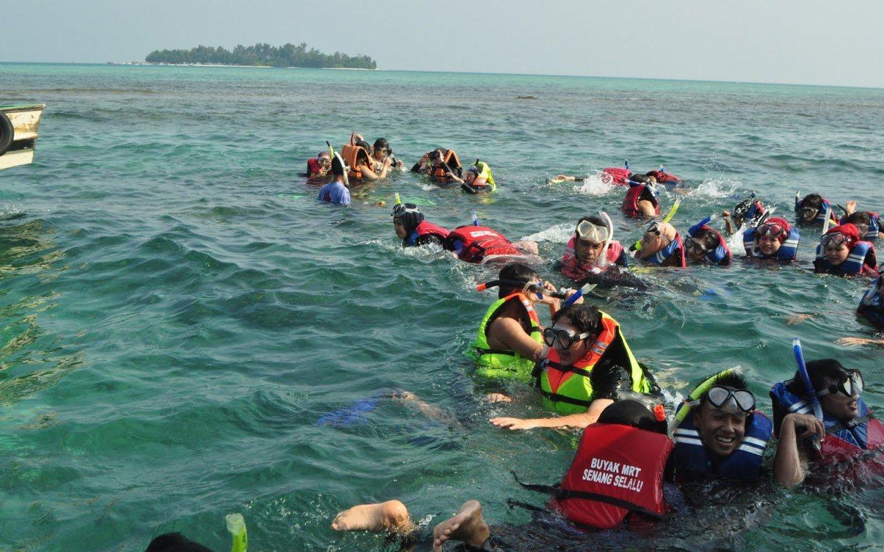 snorkeling di pulau tikus