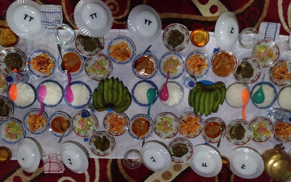 makan bajamba di seribu rumah gadang