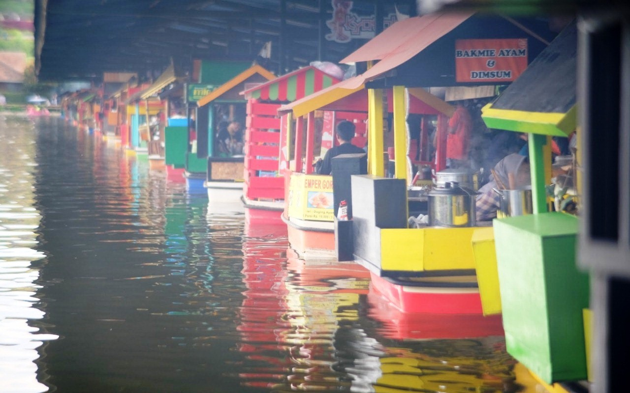 lembang floating market 2019