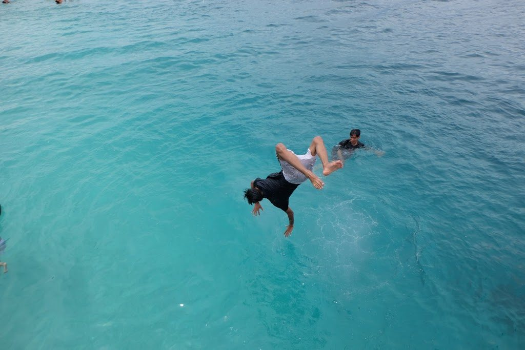 Salto di Pulau Sirandah