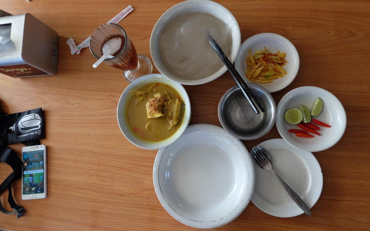 makanan khas kendari sinonggi