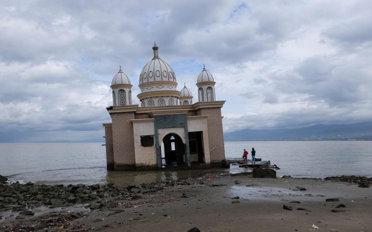masjid terapung palu