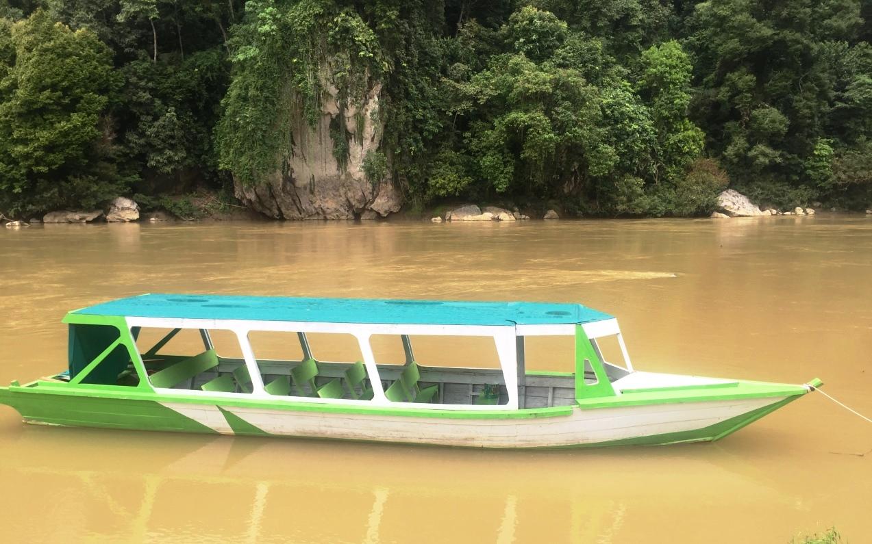 perahu wisata geopark silokek