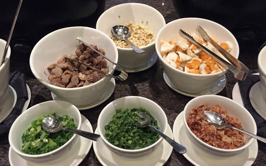 menu sarapan i hotel baloi