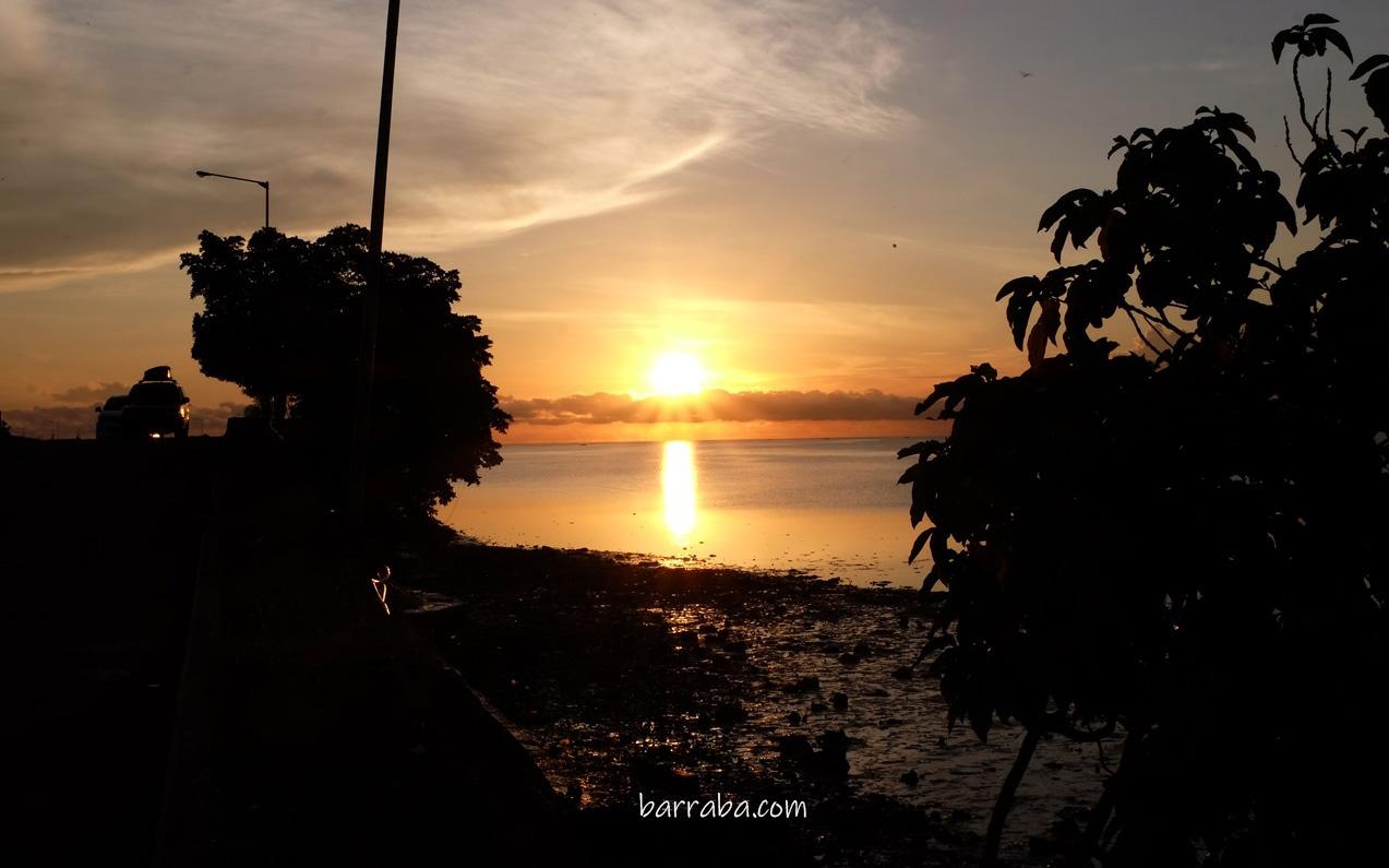 sunrise di sulawesi