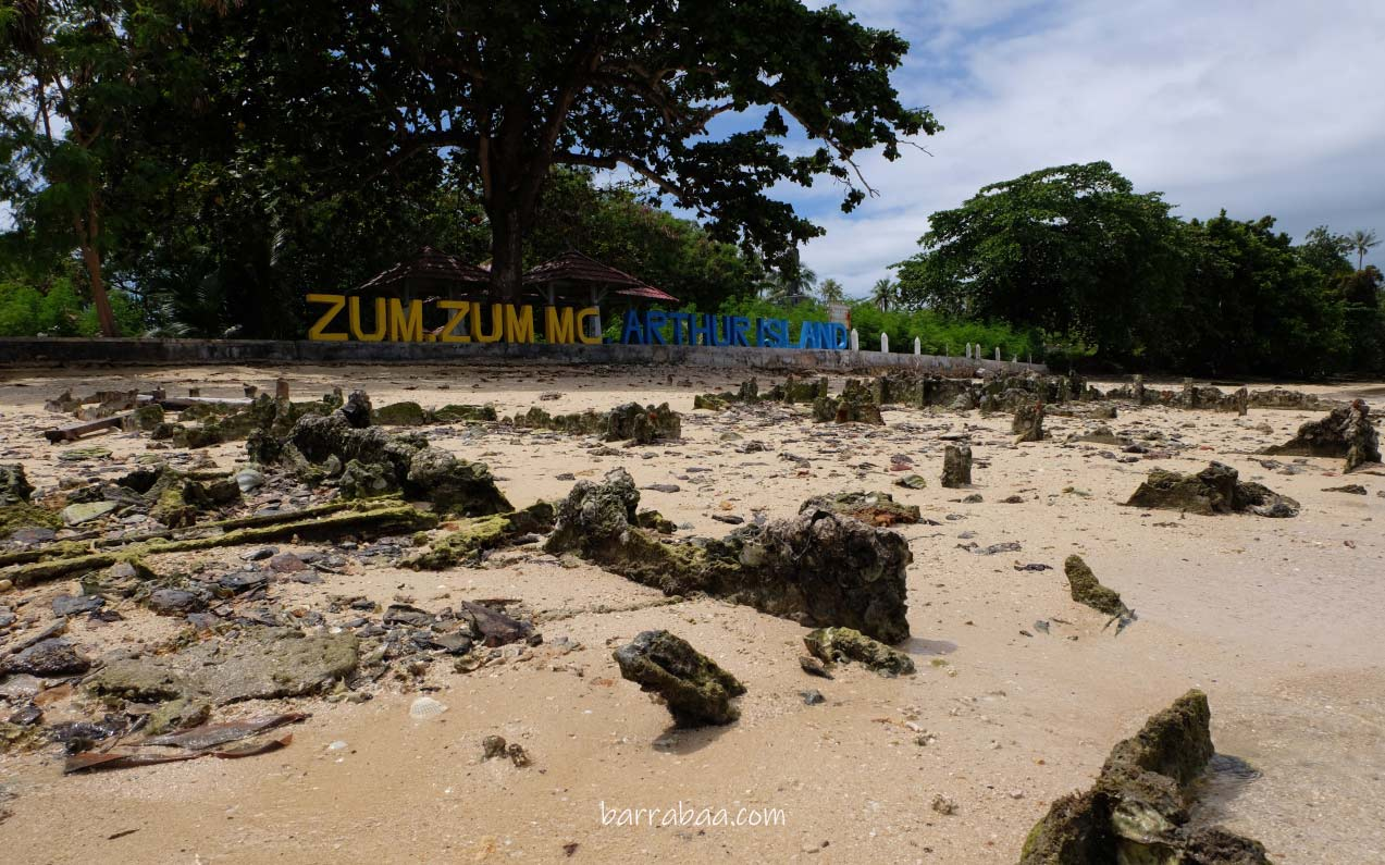 pulau zumzum morotai maluku utara