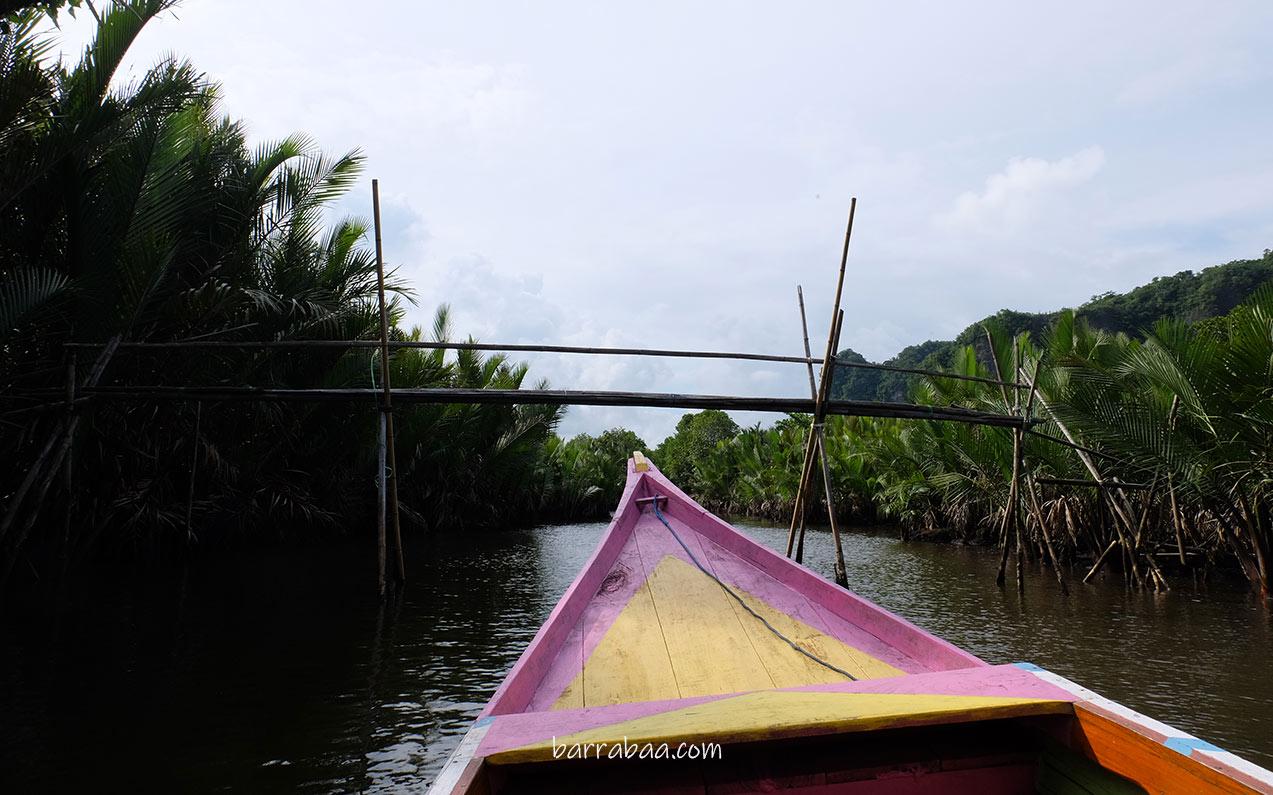 jembatan bambu rammang-rammang